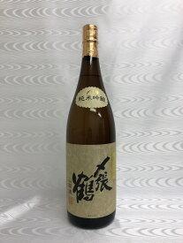 〆張鶴 純米吟醸 山田錦 1800ml (宮尾酒造) (新潟県)