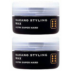 ナカノ スタイリングワックス 6 ウルトラスーパーハード 90g  2個セット