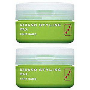 ナカノ スタイリングワックス 3 (ライトハード) 90g 2個セット