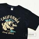 【SALE】 30%OFF 【バーゲン セール】 COVAS GRAPHIC Tシャツ カリフォルニアベアー ブラック 黒 301337-19 ユニセッ…