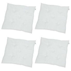 座布団 中身 日本製 60×60 cm サイズ 4個 セット 洗える わた 綿 入り 60 × 60 60cm 座布団 背もたれ 洗濯 可 背あて 背あてクッション 背もたれ ホワイト