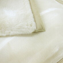 西川の2枚合せ毛布アクリルマイヤー毛布(毛羽部分)(シングル)[柄色々]【日本製昭和西川暖か毛羽部分アクリル100%2枚合わせアクリル毛布アクリルブランケットベージュ2重毛布2枚合わせ毛布2枚毛布二枚合せ2枚重ね毛布】