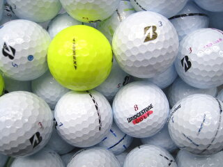 RクラスブリヂストンゴルフTOURBX/XSシリーズ1球/ロストボールバラ売り【中古】