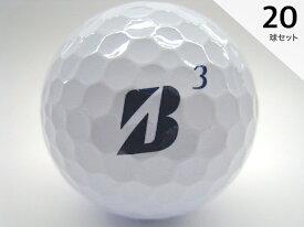 Sクラス 2018年モデル ブリヂストンゴルフ TOUR B JGR ホワイト 20球セット 送料無料 /ロストボール【中古】