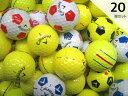 Rクラス キャロウェイ カラー&TRUVIS 20球セット 送料無料 /ロストボール バラ売り【中古】【ラッキーシール対応】