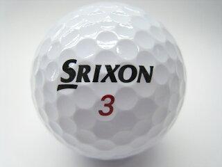 ロストボールIクラス2017年モデルスリクソンZ-STARXVロゴマーク入り【中古】ゴルフボール