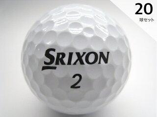 Sクラス2019年モデルスリクソンZ-STARホワイト20球セット送料無料/ロストボールバラ売り【中古】【ラッキーシール対応】
