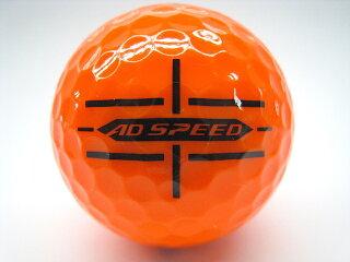 Iクラス2020年モデルスリクソンADSPEEDパッションオレンジ50球セット送料無料ロゴマーク入り/ロストボール【中古】