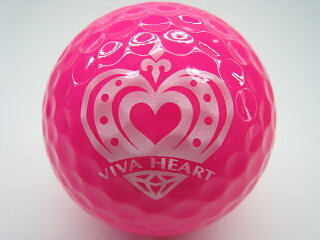 ロストボールIクラス2016年モデルVIVAHEARTビバハートロゴマーク入り【中古】ゴルフボール