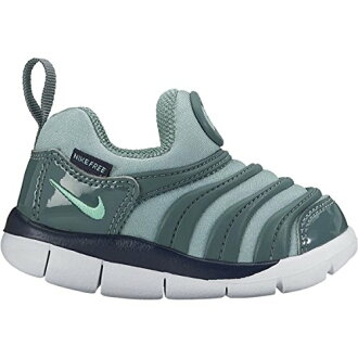 Kids shoes Nike 343938 Dynamo free TD color: 006 (/ Canon/green glow Hasta / Obsidian / white)