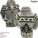 カウチンセーター(カウチンジャケット)|KANATA社(カナタ)・カナダ製|KV291 MAPLE TREE(メープル ツリー)|グ…
