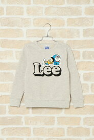 【送料無料】【キッズ】Lee I'm Doraemon トレーナー(110~140cm)【ikka kids】ボーイズ 男児 子供服 カットソー ドラえもん サガラ刺? 男女兼用