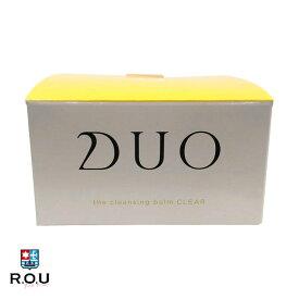 【ポイントアップ10倍! 9/19 20:00〜9/24 1:59まで】【R.O.U】 DUO デュオ クレンジングバーム クリア 90g