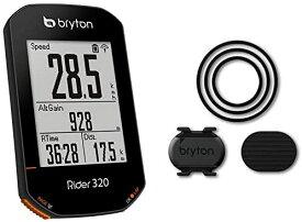 【1月27日はWエントリーでポイント「6倍」+お買い物マラソン】【あす楽】【翌日配送】Bryton ブライトン Rider 320 ライダー 320C サイコン サイクルコンピューター