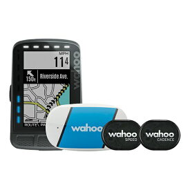 【5月13日はWエントリーでポイント「6倍!」】wahoo (ワフー) ELEMNT ROAM GPS Bike Computer Bundle/WFCC4B エレメントローム GPSサイクルコンピューターバンドル
