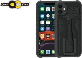 【4月13日はWエントリーでポイント「6倍!」+お買い物マラソン】TOPEAK (トピーク) RideCase iPhone 11 用 ケース+マウント付き ライドケース アイフォン 11 用
