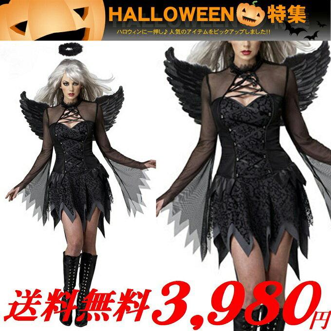 【送料無料】【大きいサイズ】【メンズもOK】ハロウィン コスチューム・セクシー 悪魔 天使コスプレ コスプレ衣装 悪魔くん 天使君 小悪魔・M・XL・3XL・5XLサイズ・即日発送OK!