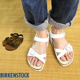BIRKENSTOCK Lady's #RIO BF White *ビルケンシュトック* 夏らしいホワイトカラーのリオ♪足首ストラップ&クロス風ベルト サンダル ドイツ製
