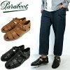 () Parabots Paraboot #PACIFIC 太平洋廓尔喀凉鞋米扎科涅克白兰地黑色橡胶底鞋棕色黑色运动鞋意大利取得和皮革凉鞋 / 男士 / 小牛皮和牛皮 (法国)