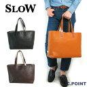 (スロウ) SLOW ≪bono≫ #49S39D Zip tote bag( ボーノ/レザートートバッグ/ジップ式内袋付き/栃木レザー/メンズ/レディース/日本製/フ…