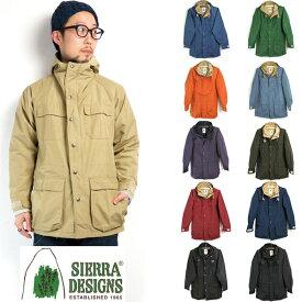(シェラデザインズ) SIERRA DESIGNS #60/40 Mountain Parka (7910) ロクヨン マウンテンパーカ マウンパ Men's メンズ 60/40クロス アウトドア アメリカ製(18AW/送料無料/マンパ/コート/アウター/ビジネス/アメカジ/新品)