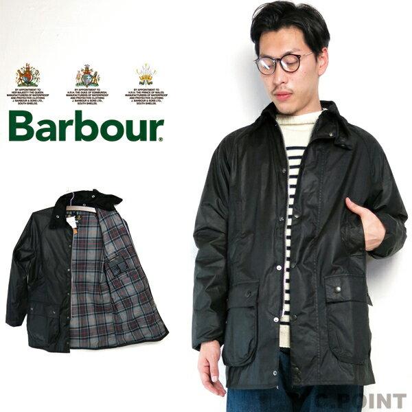 (バブアー) Barbour #Beaufort SL OiledCotton ビューフォートSL オイルドコットン スリムフィット ハンティングコート メンズ Men's アウトドア イングランド製 ビジネス ジャケット (送料無料/ワクシー/ブラック/BK91/MWX0658)