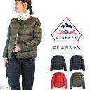 【20aw再入荷】 (ピレネックス) PYRENEX Lady's #CANNES NoCollar Down Jacket #カンヌ ノーカラーダウンジャケット タフタ ショート丈…