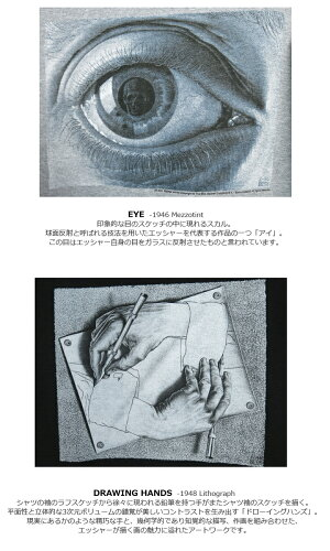 M.C.エッシャー/M.C.Escher/#EscherParka/エッシャー/プリント/スウェット/パーカー/Eye/DrawingHands/GILDAN/マウリッツコルネリスエッシャー/MauritsCornelis/アート/だまし絵/ギルダン/送料無料/アイ/ドローイングハンズ/グレー/ブラック/ブルー/CPOINT/シーポイント