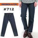 (リゾルト) RESOLUTE #712 505モデル(メンズ/テーパード/ストレート/デニム/パンツ/ジーンズ/紙パッチ/13.75oz/ジッパーフライ/ワンウ…