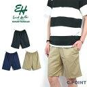 (エリックハンター) Erick Hunter #Twill Jam Shorts メンズ ツイルショーツ 短パン イージーパンツ ワイドシルエット ウエスト…