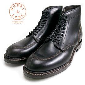 """(ウィールローブ) WHEEL ROBE #15060 5"""" Split Toe Moc Boots(メンズ/スプリットトゥモックブーツ/5インチブーツ/Last#314/Width """"E""""/外羽根式/クロムエクセル/キャッツポウ/グッドイヤーウェルト/日本製//紳士/送料無料)"""