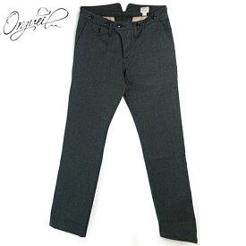 (19AW/再入荷) (オルゲイユ) ORGUEIL #OR-1002 Classic Low Trousers クラシックロートラウザー 撚り杢ブラックツイル ボタンフライ ナットボタン サスペンダーボタン 綿 ブラック 日本製 (送料無料/ダルチザン/DARTISAN/メンズ/セットアップ/パンツ/ボトムス)