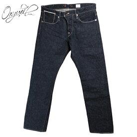 (再入荷) (オルゲイユ) Orgueil #OR-1001 ≪OneWash≫ Tailor Jeans テーラージーンズ ワンウォッシュ ピュアインディゴ 13.5オンス ウエストオーバーオール 鹿革パッチ ジンバブエコットン 日本製(Men's/メンズ/送料無料/デニム/パンツ/OR-065)