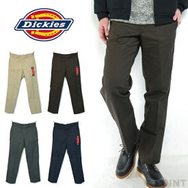 (ディッキーズ) Dickies #874 Original Work Pants ワークパンツ チノパン TCツイル レングス30インチ メンズ ボトムス ベージュ ブラウン ネイビー チャコール (送料無料/カーキ/グレー/定番/綿ポリ/アメリカ/インポート/無地)