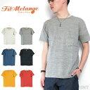 (19SS/再入荷) (フィルメランジェ) FilMelange #DIZZY ディジー 半袖Tシャツ オーガニックラフィー天竺 カットソー メンズ Men's オフ…