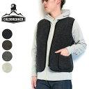 (19AW/再入荷) (コールドブレーカー) COLDBREAKER #Body Warmer Vest ボディウォーマー ベスト ウール フリース ポーランド製 羊毛 天然素材 ALWERO アルベロ (送料無料/メンズ/ボア/ジップ/ライトグレー/ブラック/チャコール/ダークブラウン/モコモコ)
