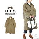 (ハロータウンストアーズ) HTS #NHT2001 Cotton Balmacaan Coat レディース コットンバルマカーンコート 後染めヘビーツイル ステンカ…