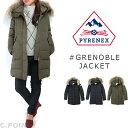 【30%OFF】(ピレネックス) PYRENEX Lady's #GRENOBLE JACKET Long-length Down Jacket #グルノーブルジャケット ファー ダウンコート …