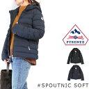 (ピレネックス) PYRENEX Lady's #SPOUTNIC SOFT スプートニック ソフト ショート丈 ダウンジャケット フード取り外し フレンチダックダ…