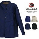【20AW再入荷】 (ル・トラヴァイユール・ガリス) Le Travailleur Gallice #Traditional Worker Jacket(メンズ...