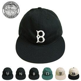 (クーパーズタウンボールキャップ) Cooperstown Ball Cap #FunCap(ファンキャップ/ベースボールキャップ/ロゴキャップ/ハンドメイド/綿100%/アメリカ製/男女兼用/ロゴ刺繍/カジュアル/アウトドア/帽子)