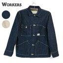【20%OFF】(ワーカーズ) WORKERS #Engineer Jacket (メンズ/エンジニアジャケット/Gジャン/ワークジャケット/14オンス…