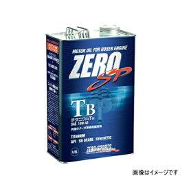 ZERO SPORTS ゼロスポーツ 0826012 ZERO SP チタニウムTBエンジンオイル 4.5L缶 10W-40