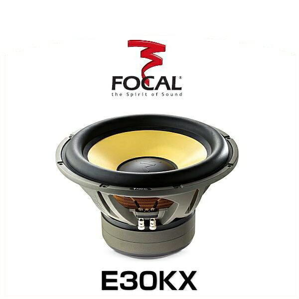 FOCAL フォーカル E30KX 30cmサブウーファー K2 Power