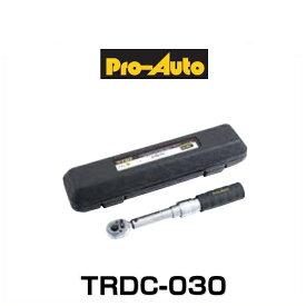 プロオート スエカゲツール TRDC-030 トルクレンチ 3/8 9.5sq. (6〜30N・m)