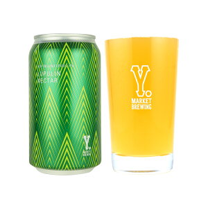 Y.MARKET Lupulin Nectar ルプリンネクター 370mlクラフトビール 地ビール ワイマーケット ビール 愛知県 名古屋 お土産 ギフト 宅飲み 家飲み