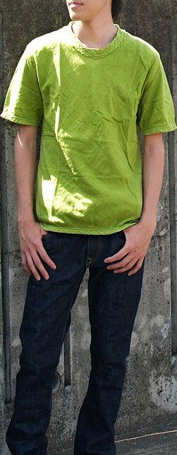 【全25色から選べます!】ガーゼ服工房garage(ガラージ)ダブルガーゼシンプルTシャツ半袖メンズ[TS-33-SS]
