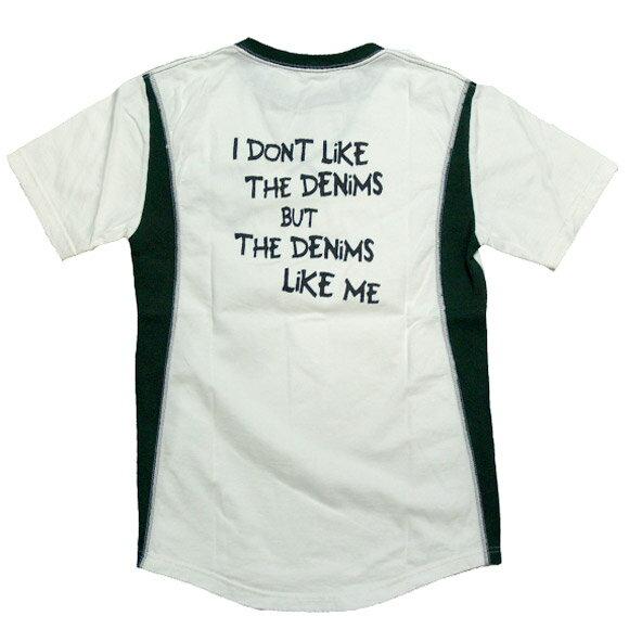 【40%OFFセール!在庫わずか】graphzero(グラフゼロ)「デニムがオレを好きなんだ」Tシャツ [GZ-TS-JZ-01] 岡山 倉敷 児島 ジーンズ デニム ブランド 夏服 児島製 日本製 国産