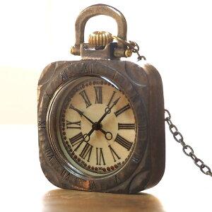 "JOIE INFINIE DESIGN(ジョイ アンフィニィ デザイン)手作り懐中時計""TRUNK""[D-6155] 時計作家・大護慎太郎 ハンドメイドポケットウォッチ 手作り時計 メンズ レディース アンティーク調 アナロ"