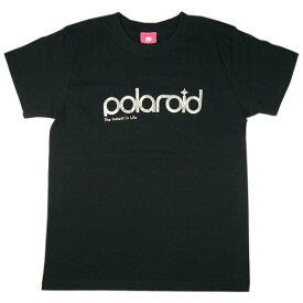 """mellow out デザインTシャツ """"polaroid""""純銀プリント半袖 ブラック メンズ・レディース [MO-SILTEE-004] おすすめ夏服"""